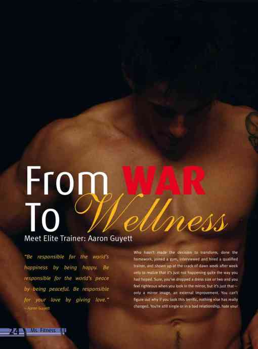 From War To Wellness-An Article on Aaron Guyett and his company Innovative Results